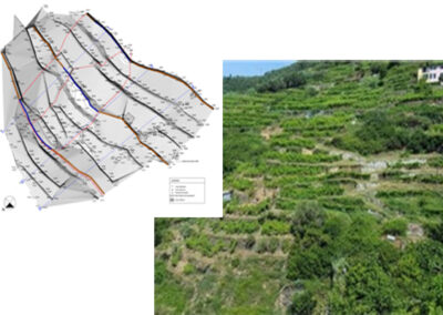 Valutazione dello stato di attività riferito ad aree interessate da fenomeni franosi attivi e quiescenti all'interno dei comuni di Monterosso al Mare e Vernazza