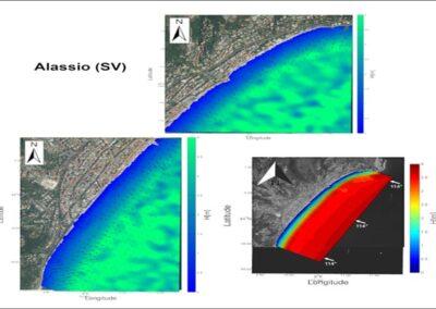 Servizio di valutazione del progetto di riequilibratura della spiaggia e modifica di opere, mediante modellistica applicata su diversi scenari