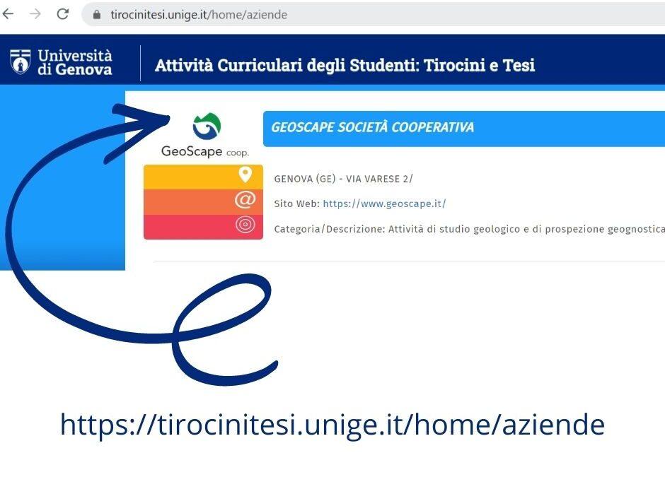 Università di Genova – Convenzione per tirocini curriculari
